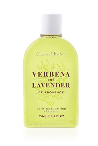 Crabtree & Evelyn Daily Moisturising Shampoo, Verbena and Lavender de Provence, 8.5 Fl Oz