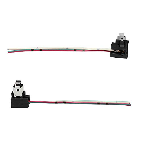 YUNPICAR H1 Male Plug Single Diode Extension Socket Wire Harness Connector Holder for LED Headlights Bulb Conversion (H1 Male Plug)
