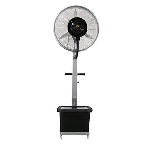 FUFU Climatizadores evaporativos Ventilador de Niebla oscilante Comercial de 26', Ventilador de Niebla para Interiores y Exteriores de Alta Velocidad, frío Industrial, Ideal para Uso en Exteriores Co