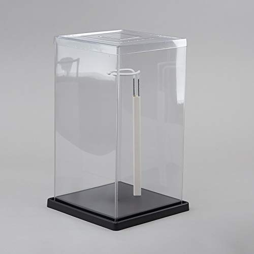 Factory Direct Craft Doll Display Showcase Box with Adjustable Stand