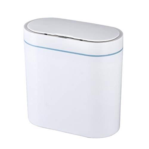 SMEJS Sensor Inteligente Bote de Basura Electrónico Automático Hogar Baño Inodoro Impermeable Sensor de Costura Estrecha Bin