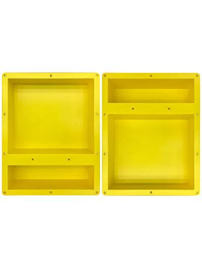 Buy Discount Uni-Green Built in Shower Niche 20X32Double Shower Shelf