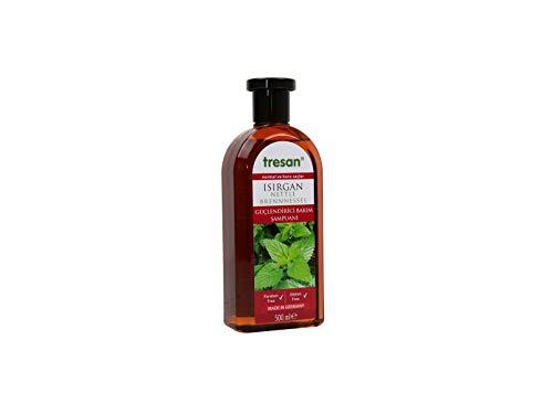 Tresan, Brennnessel Shampoo, für normales und trockenes Haar, kräftigt und stärkt die Haare, Inhalt: 500 ml