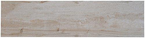 Terrassenplatten Holzoptik sandbeige matt, glasiert, R11, 30x120x2,0cm, 1Krt= 0,72qm, Feinsteinzeug, MOES271