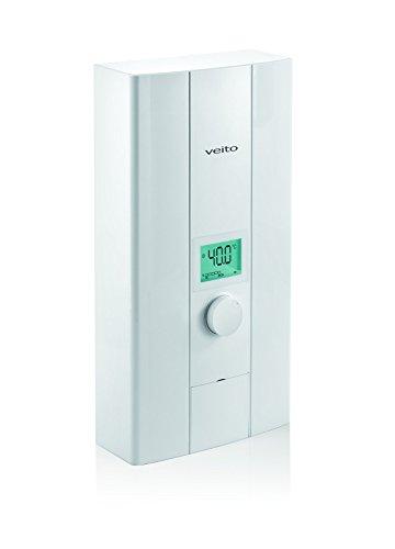 veito Blue S elektronischer Durchlauferhitzer 21kw | Übertisch - Untertischgerät | Niederdruck | für Küche und Badezimmer | kompakt | digital Anzeige | Drehregler | TÜV/GS Zertifiziert