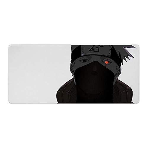 Naruto Mouse pad,Naruto Kakashi Mangekyou Sharingan (1),Large Gaming Mouse Mat,Desk Mat,Waterproof Anti-Dirty Anti Slip Lockrand Mousepad,Perfect for Computers,50x120cm 19.6x47.2 inch