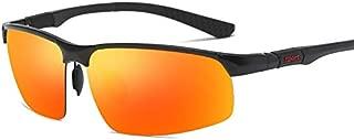 Sumuzhe Men Polarized Sunglasses Driver Chauffeur-Driven Sports Personality Sunglasses (Color : E)