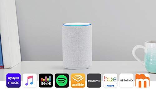 Echo Plus (2ème génération), Son de qualité premium avec un hub maison connectée intégré, Tissu sable