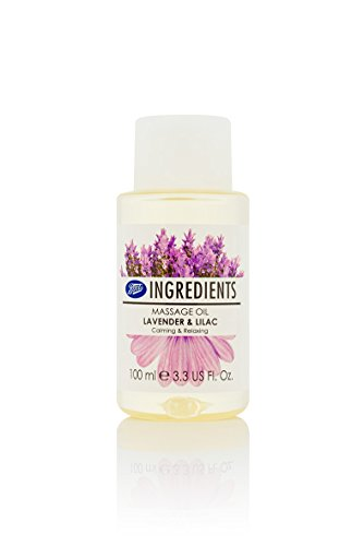Best Prices! Boots Ingredients Massage Oil Lavender & Lilac 100 ml. (4 Pack)