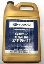 Subaru SOA868V9285 / SOA427V1415  SAE 5W30 Synthetic Motor Oil - 1 Gallon