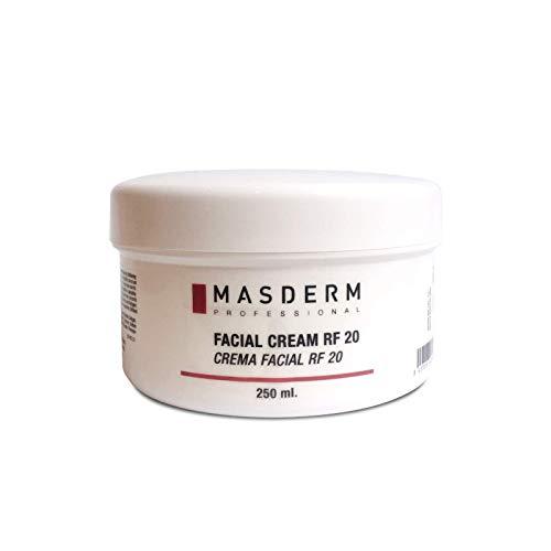 MASDERM | Gel Crema Facial Radiofrecuencia Hidratante Antiarrugas 250 ml | Ácido Hialurónico | Colágeno | Bio-Retinol | Cavitación | Ultrasonidos | Luz LED | Profesional