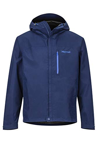 Marmot Minimalist Jacket Giacca Antipioggia Rigida, Impermeabile, Antivento, Impermeabile, Traspirante, Uomo, Arctic Navy, XL
