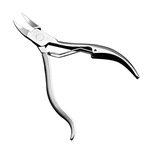 OHHCO Cortauñas Alicates Uñas Alicates de Corte de la cutícula Corte Tijeras de uñas de manicura pedicura Corte cortaúñas