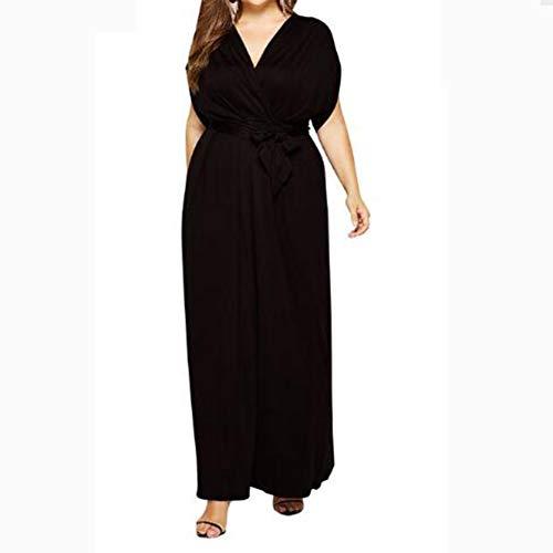 Yiyu Nachthemd Damen Bademantel Damen Morgenmantel Damen Nachtkleid Nacht Kleidung Babydoll Nachtwäsche Große Größen Damen Unterwäsche Unterkleid x (Color : Black, Size : M)