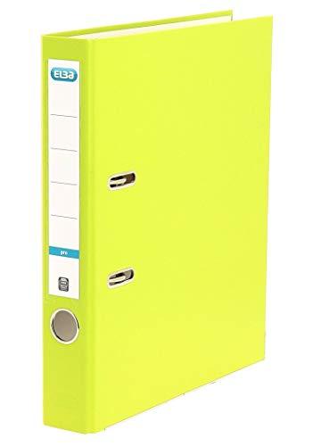 ELBA Ordner smart Pro 5 cm schmal DIN A4 hellgrün