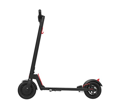 "GOTRAX GXL V1 Commuting Electric Scooter - 8.5"" Air Filled Tires - 15.5MPH & 9-12 Mile Range - Version 1 (Black)"