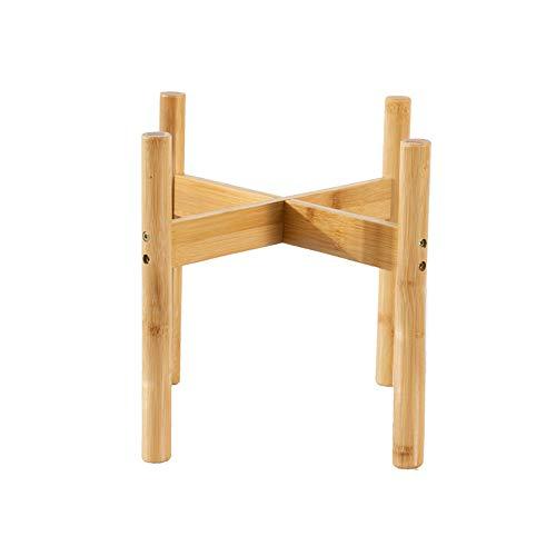 ZZBIQS Mediados de siglo modernos soportes para plantas de interior, soporte para macetas de madera,...