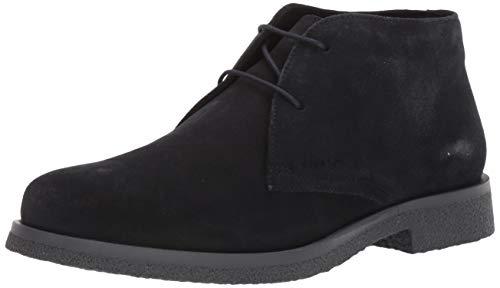 Geox Herren Suede Ankle Boots, Navy, EU/10 M US Claudio 18 Chukka Stiefelette, Wildleder, Marineblau, 43 EU / 10 M