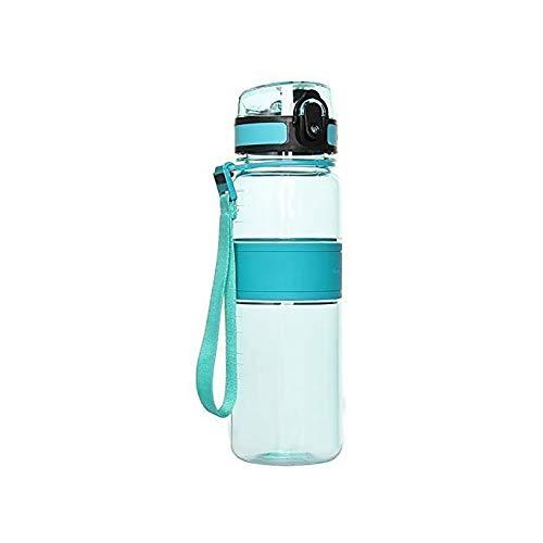 Best Sport Water Bottle 22oz Large Fast Flow Flip Top Leak Proof Lid Drinking Bottle 650ml Green