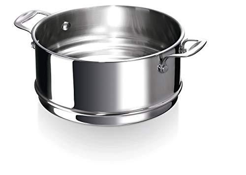 Bekaline 12060294 Chef Passoire Vapeur en acier inoxydable 24 cm