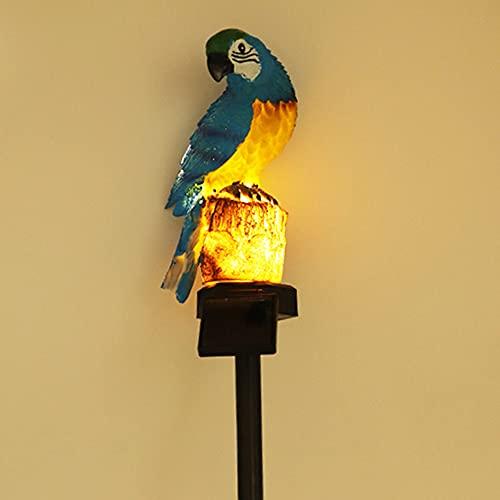 ZOULME Solar Garden Light Eulenform Rasenlampe Wasserdichtes LED-Landschaftslicht für Patio Pathway Yard Night Decoration 24 * 8 * 8cm