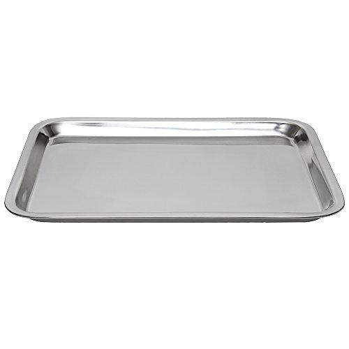 Lindy's 8W20 heavy baking sheet, 12.25″ x 16.75″, silver