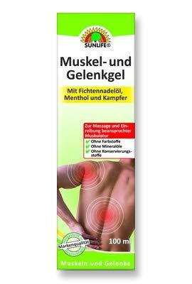 SUNLIFE Muskel- und Gelenkgel, 100 g