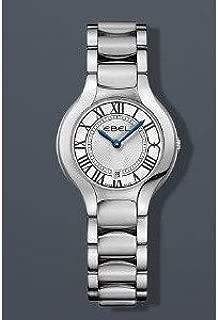 腕時計 Ebel Beluga Lady Roman 30mm Watch - Silver Dial, Stainless Steel Bracelet 1216037【並行輸入品】