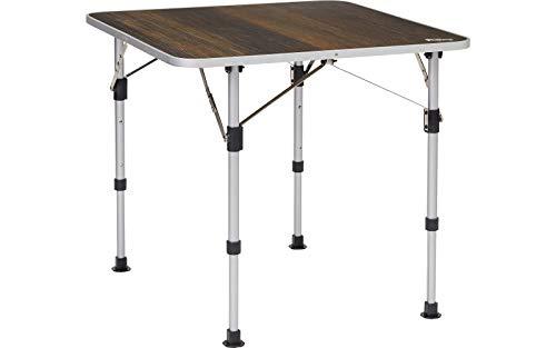 BERGER Livenza Campingtisch Mini Dunkel Tisch Esstisch Campingtisch Terrasse Camping Beistelltisch
