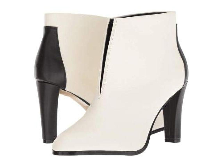 郵便屋さん切る彼女はTahari(タハリ) レディース 女性用 シューズ 靴 ブーツ アンクルブーツ ショート Meredith 2 - Star White/Black [並行輸入品]