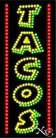 Tacos LEDサイン( High Impact、エネルギー効率的な)