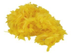 1st Choice Deluxe Large Yellow 72 Costume Accessory Feather Boa [Apparel], 6'