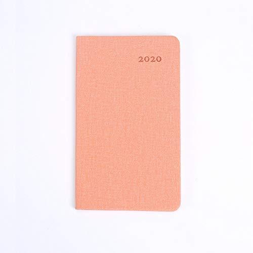 Agenda 2020 Eficacia Notebook Business Planner A6 Diario Sketchbook creativo semanal Caderno cuaderno libreta defter dljyy