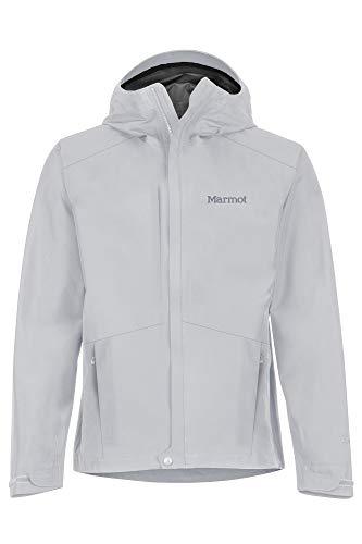 Marmot Minimalist Jacket Chubasquero Rígido, Chaqueta Impermeable, A Prueba De Viento, Impermeable, Transpirable, Hombre, Sleet, M