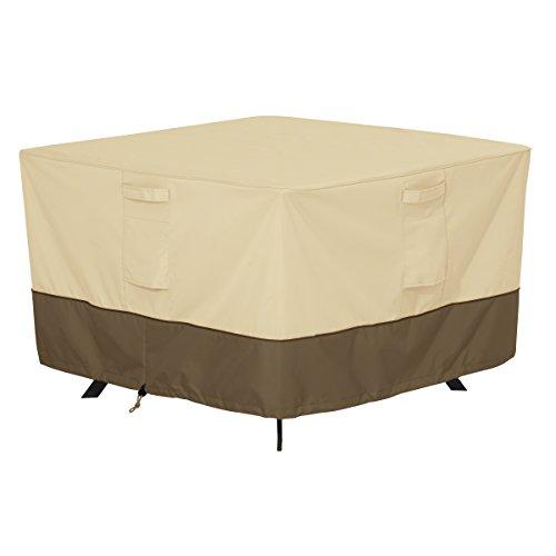 Classic Accessories Veranda 55-567-011501-00 Housse pour Table – L pour Table CARRÉE