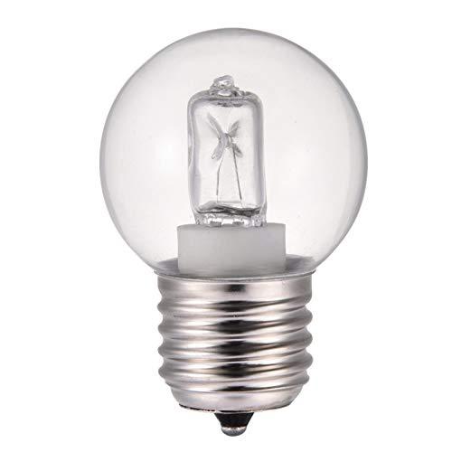 Lámpara de bombilla para horno,E27 40 W 220-240 V,bombilla de filamento blanco cálido,alta temperatura 500° C,bombillas incandescentes resistentes para horno eléctrico gas vapor,vapor puro (1 unidad)