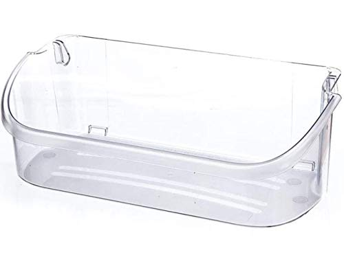 240356402 Clear Refrigerator Door Bin for Electrolux and Frigidaire, Upper Slot Replacement Shelf, Gallon Size - Replaces Part Numbers AP2549958, 240430312, 240356416, 240356407, and more