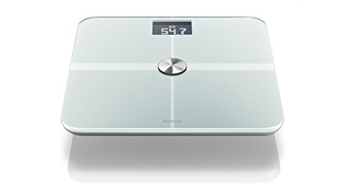Withings WiFi Body Scale Digitale Personenwaage (WLAN, iPhone App, Facebook Connection) weiß