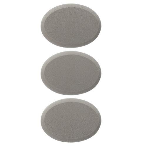 FRCOLOR Cushion Puff Loose Powder Puff Cotton Powder Cosmetic Puffs for Loose Powder Mineral Powder Body Powder 3pcs