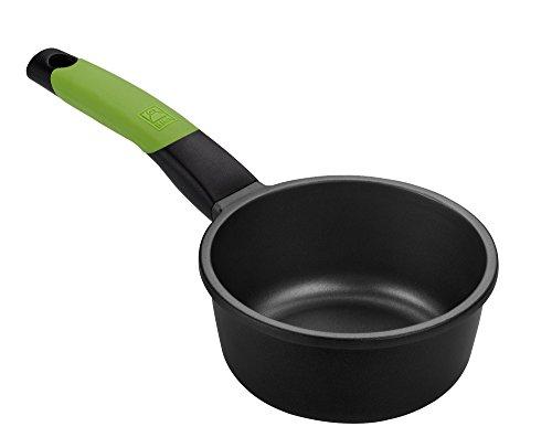 BRA PRIOR - Cazo, 16 cm, aluminio fundido con antiadherente Teflon Classic, apto para todo tipo de cocinas incluida inducción y horno.Libre de PFOA.