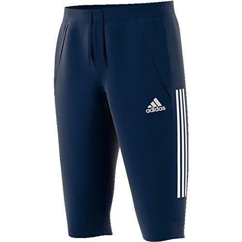 adidas Herren Trainingshose 3/4 Condivo 20 3/4 Pants, Team Navy Blue/White, 3XL, ED9215
