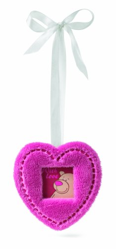 Nici 29583 - Bilderrahmen roSchlüssel-Anhänger klein Herzform, 9 x 9 cm