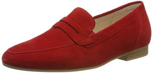 Gabor Shoes Damen Comfort Sport Pumps, Rot (Flame 48), 42 EU