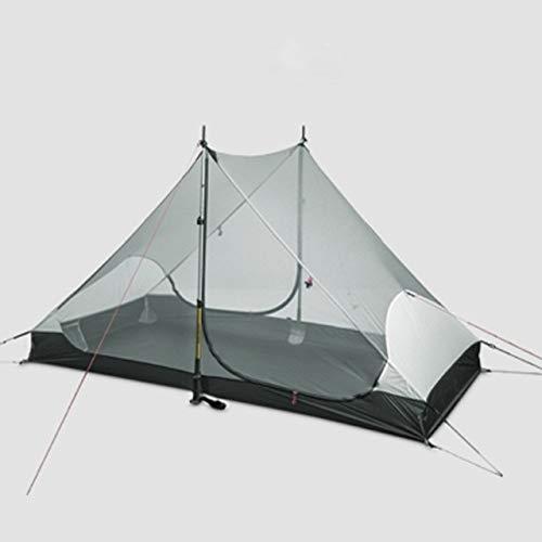 Tent 3F UL GEAR 3F ul gear 2 persons 3 seasons and 4 seasons inner of LANSHAN 2 out door camping tent tent-7.28 (Color : 3 season inner tent)