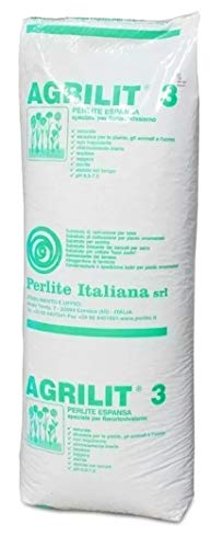 AGRILIT 3 AGRIPERLITE LT.100 per Uso AGRICOLO Colore Bianco MM 3-5 - AMMENDANTE