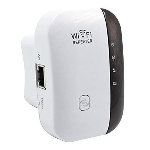 Haihui - Ripetitore WiFi WiFi 300 Mbps 2.4 GHz WiFi Range Extender WPS, connessione LAN/ripetitore/modalità AP per giardino e soggiorno