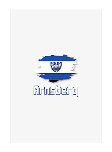 Tipolitografia Ghisleri Handtuch, Strandtuch, Handtuch ARNSBERG mit Flagge 41