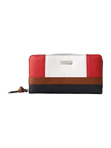 TOM TAILOR Acc Damen Juna Geldbörse, Rot (Rot), 2.5x10.5x20 cm