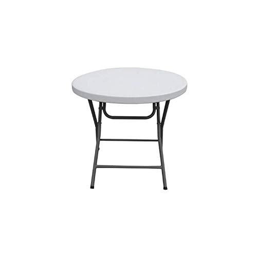 Mesa Cocktail Baja - 80 cm diámetro - 74 cm Alto - Plegable