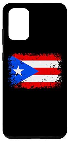 Galaxy S20+ Puerto Rico Flag Case